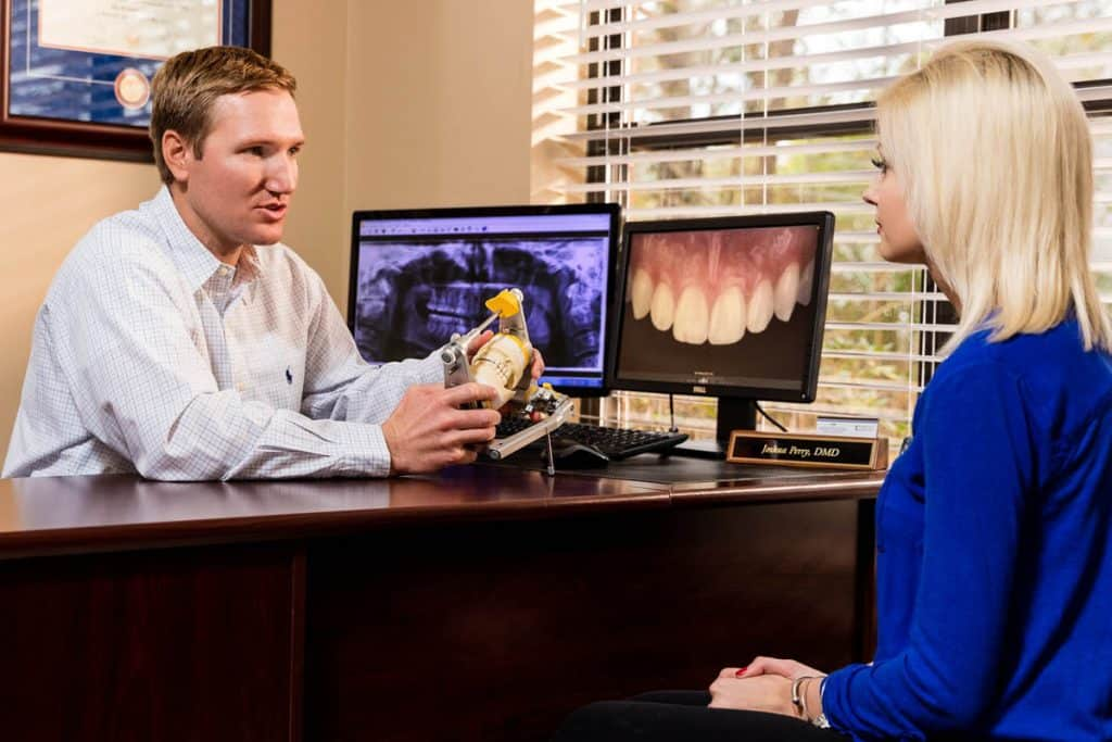 Dental Implant Service Discussion In Person